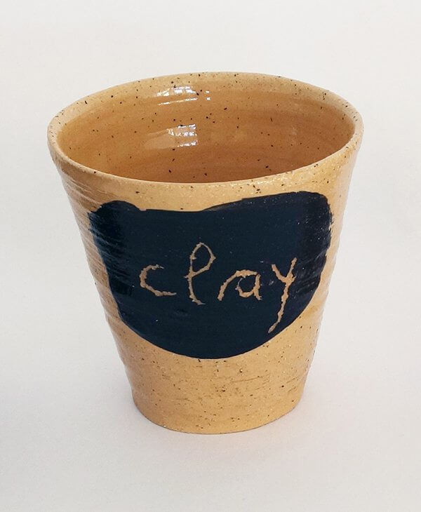 Kleines a Geschirr Becher Clay – More Clay Less Plastic