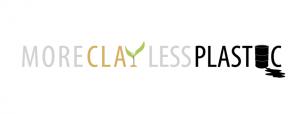 Logo More Clay Less Plastic